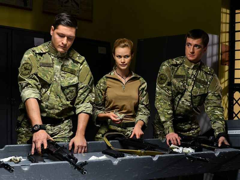 """Russian military series """"Sea Devils Frontiers of the Motherland"""" 2018 watch online for free all series in a row 1 - 24 on NTV 