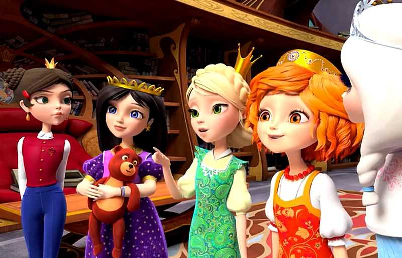 Tsarevna Animated Series all series in a row to watch online free cartoon